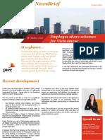 20161017 Pwc Vietnam Newsbrief Employee Share Schemes Vietnamese En