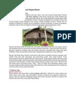 Kebudayaan Provinsi Papua Barat