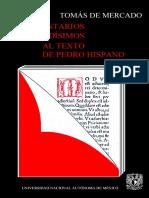 De Mercado, Tomás. Comentarios Lucidísimos Al Texto de Pedro Hispano. México