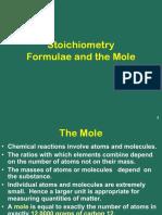 Stoichiometry- Mole Concepts