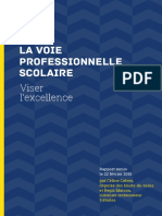 Rapport Voie Professionnelle 2018