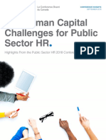 HR challenges in Public Sector