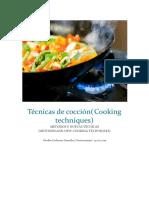 Técnicas de Cocción (Curso Gastronomia)