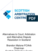 Arbitration and ADR in Scotland.ppt