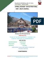 01. Memoria Descriptiva Pampamarca