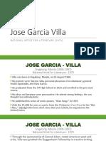 6. Jose Garcia Villa