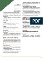 D&D 5ª - Reglamentación Esencial
