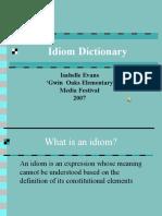 Idiom Dictionary