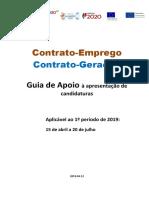 Guia de Apoio à Candidatura - Contrato_Emprego Geração (Iefponline)