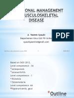7.0 nutritional management on musculosceletal disease 2018.ppt