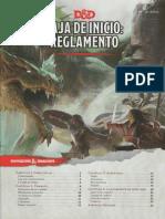Reglamento D&D 5a Caja de Inicio