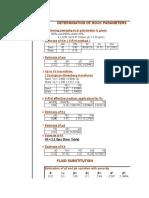 Fluid Substitution Program,ROCK Parameter Calculation