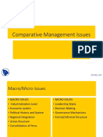 Docsity Comparative Management Issues International Management Lecture Slides