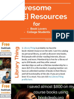 Free Book Resourses