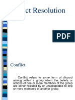 CONFLICT RESOLUTION.ppt