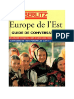 - Europe de l'Est - Guide de Conversation 12 Langues-Berlitz (1996)