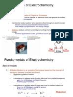 Electochemistry