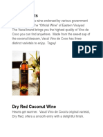 Case Study - Vino de Coco Winery