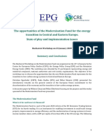 Policy Brief Modernisation Fund CEPS EPG CRE January 2019