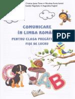 Comunicare in Limba Romana - Clasa Pregatitoare - Fise
