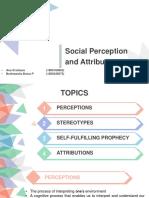 OB-Chap(7)-Social Perceptions and Attributions- Angelo Kinicki
