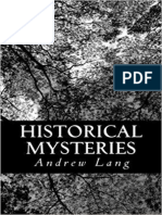 Historical Mysteries - Andrew Lang.epub