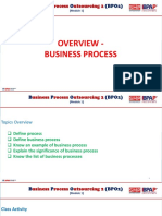 Bpo2-Module 1 Overview-business Process