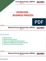 Bpo2-Module 1 Overview-business Process