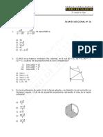 Desafios 10 de matematicas 4° Medio(7%)