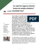 Revista de Cambio Climatico