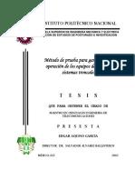 Método de prueba para garantizar la operación de los equipos de rado en sistemas troncales