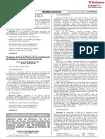 RESOLUCIÓN MINISTERIAL Nº 227-2019-PCM