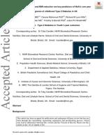 Pediatric Diabetes Volume Issue 2018 [Doi 10.1111%2Fpedi.12761] Candler, Toby P; Mahmoud, Osama; Lynn, Richard M; Majbar, Abdalm -- Treatment Adherence and BMI Reduction Are Key Predictors of HbA1c On
