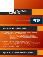 MATERIALES ORGÁNICOS