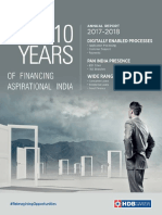 HDBFS Annual Report 2018