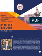 DTU PLACEMENT BROUCHURE