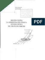 Vizueta - El Delito de Cohecho [2003]