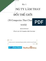50 Cong Ty Lam Thay Doi the Gioi