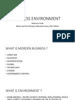 Ssb Business Environment [Autosaved]