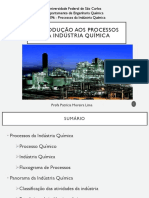 Aula 1 ProcessosePanoramaIndustriaQuimica