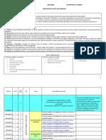 Dosificación Por Semanas Matemáticas 2 (SIN SUBTEMAS)