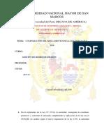 Comparación Del Reglamento de La Ley 27314 y Ley 1278