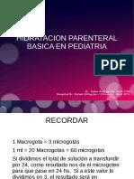 Hidratación parenteral básica en pediatria.odp