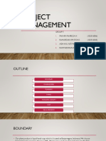 Project Management Group 5