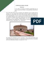 Fortaleza Real Felipe 1123