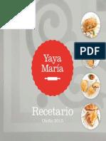 Recetario Yaya