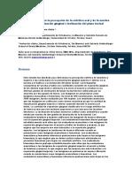 Influencia Del Sexo en La Percepción de La Estética Oral y de La Sonrisa Con Diferente Visualización Gingival e Inclinación Del Plano Incisal