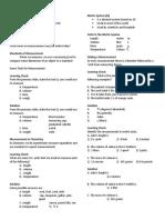 Units of Measurements Handout 2