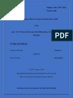 TSV 1913 Petitioner
