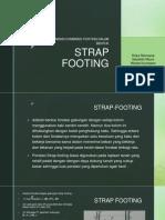 Pondasi Gabungan Strap Footing